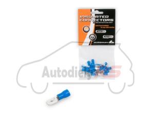 Kolík modrý plochý izolovaný MDD2-250 20ks