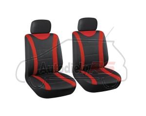 Autopoťah 2ks čierny/červený AUTOMAX