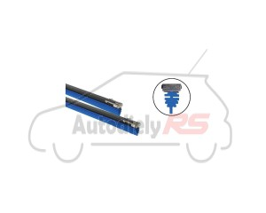 Guma stierača 610mm+lišta modrá TUNINGAGE