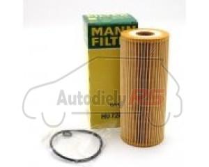 Filter oleja Octavia 1.9 TDI, Superb 1.9 , 2.0TDI  AUDI, Seat, VW MANN HU726/2X