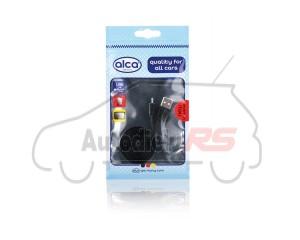 Nabíjací kábel Lightning USB dĺžka 1m ALCA