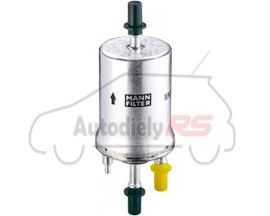 Palivový filter TSI, FSI MANN WK69 Octavia II, Fabia II, III, Yeti, Roomster, Superb II 6,4 Bar