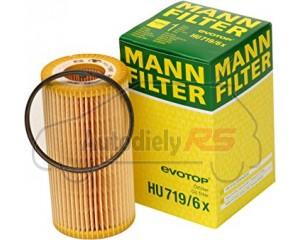 Filter oleja Octavia II,Leon, Toledo III, Golf V, VI, Passat, Polo, Touran 2.0 FSI, TSI MANN HU719/6X