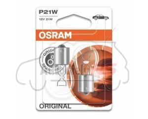 OSRAM 21W 12V P12W BA15s blister 2ks
