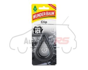 Osviežovač W-BAUM CLIP BLACK