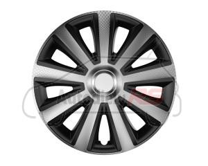 Puklice Aviator carbon silver&black 14 VERSACO
