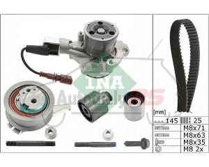 Rozvod + vodná pumpa INA Octavia III, Rapid, Superb III, Yeti, Karoq, Kodiaq, Leon III, Alhambra II, Passat, Golf VII, Touran,1.6 TDI, 2.0 TDI
