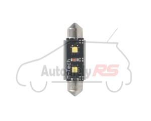 LED C5W 36mm 2xHP 12V White PLATINUM