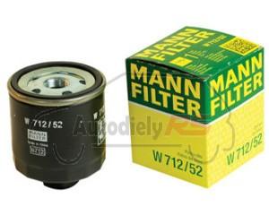 Filter oleja Felicia Octavia 1.6, Fabia 1.4 16V, Polo, Golf, Ibiza, Cordoba MANN W712/52