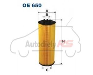 Filter oleja Superb I, Audi , VW Passat 2.5 Tdi FILTRON OE650