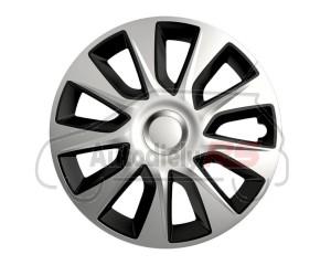 Puklice Stratos DC silver&black 14