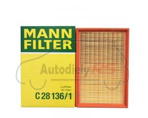 Filter vzduchu Felicia 1.3Mpi, 1.6Mpi, 1.9d MANN (hranatý) Caddy, Ibiza, Cordoba