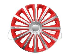 Puklice Trend silver&red 13 VERSACO