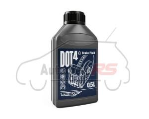 Brzdová kvapalina TOMEX DOT 4  0.5 L