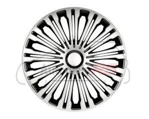 Puklice Volante silver&black 15 ARGO R15266
