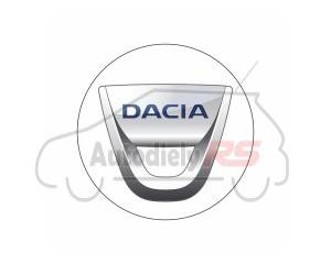 Samolepka Dacia 4ks disky 55mm