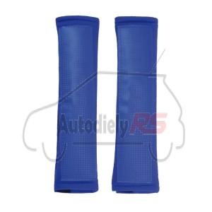 Podložka bezpečnostných pásov modrá