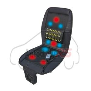 Masážy poťah sedadla s ohrevom aj chladením