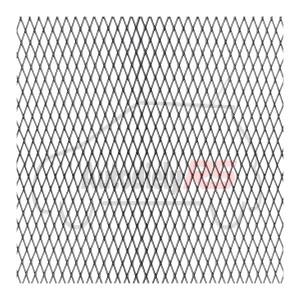 Mriežka AL čierna MO 100x25cm