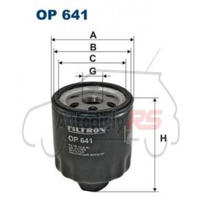 Filter oleja Felicia Octavia 1.6, Fabia 1.4 16V, Polo, Golf, Ibiza, Cordoba FILTRON