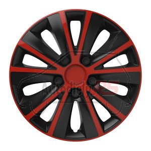 Puklice Rapide red&black 14 VERSACO