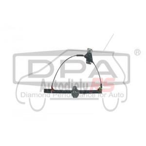 Mechanizmus, spúšťač, zdvíhač skla VW Transporter ľavý